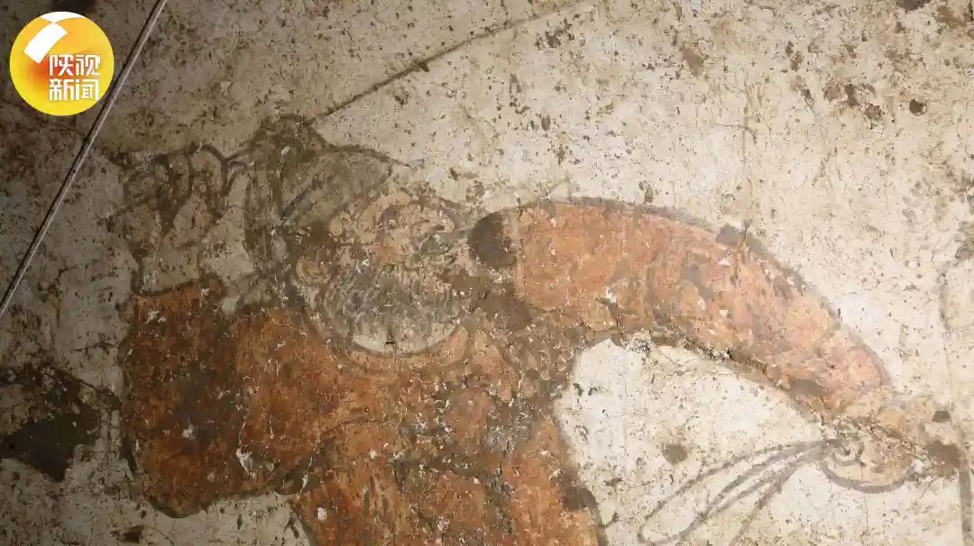 """陕西发现大量罕见唐代壁画,墓主为唐代""""弼马温"""""""