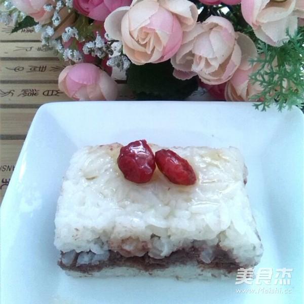 @淮北人 豆沙蜂蜜凉糕的做法 美食做法 第11张