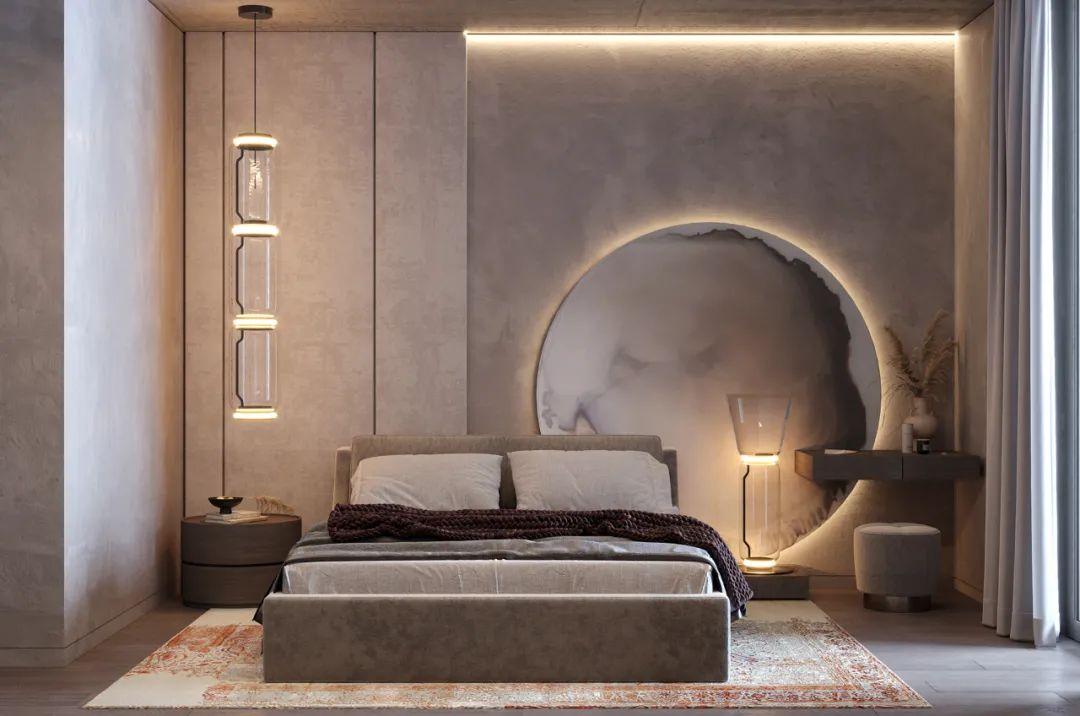 50款卧室背景墙设计,家里装修一定要看看