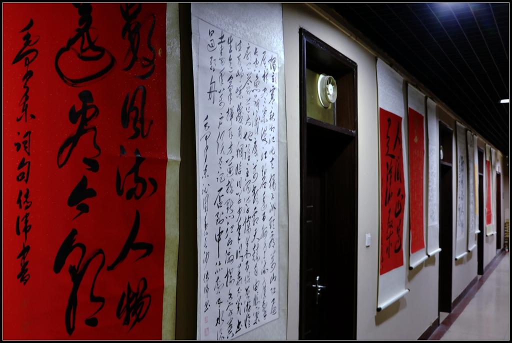 永远跟党走 书法抒情怀 郓城传递红色文化博物馆
