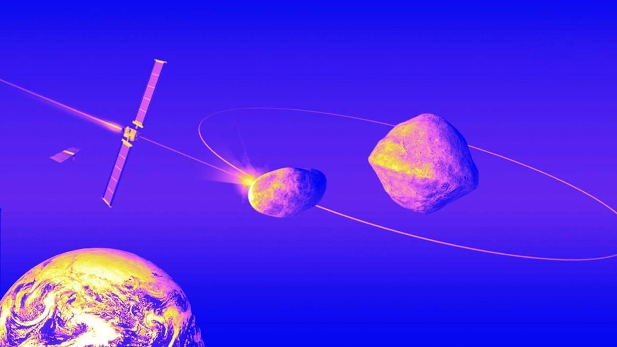 用小行星来保护地球?而且还要找一颗小巧的