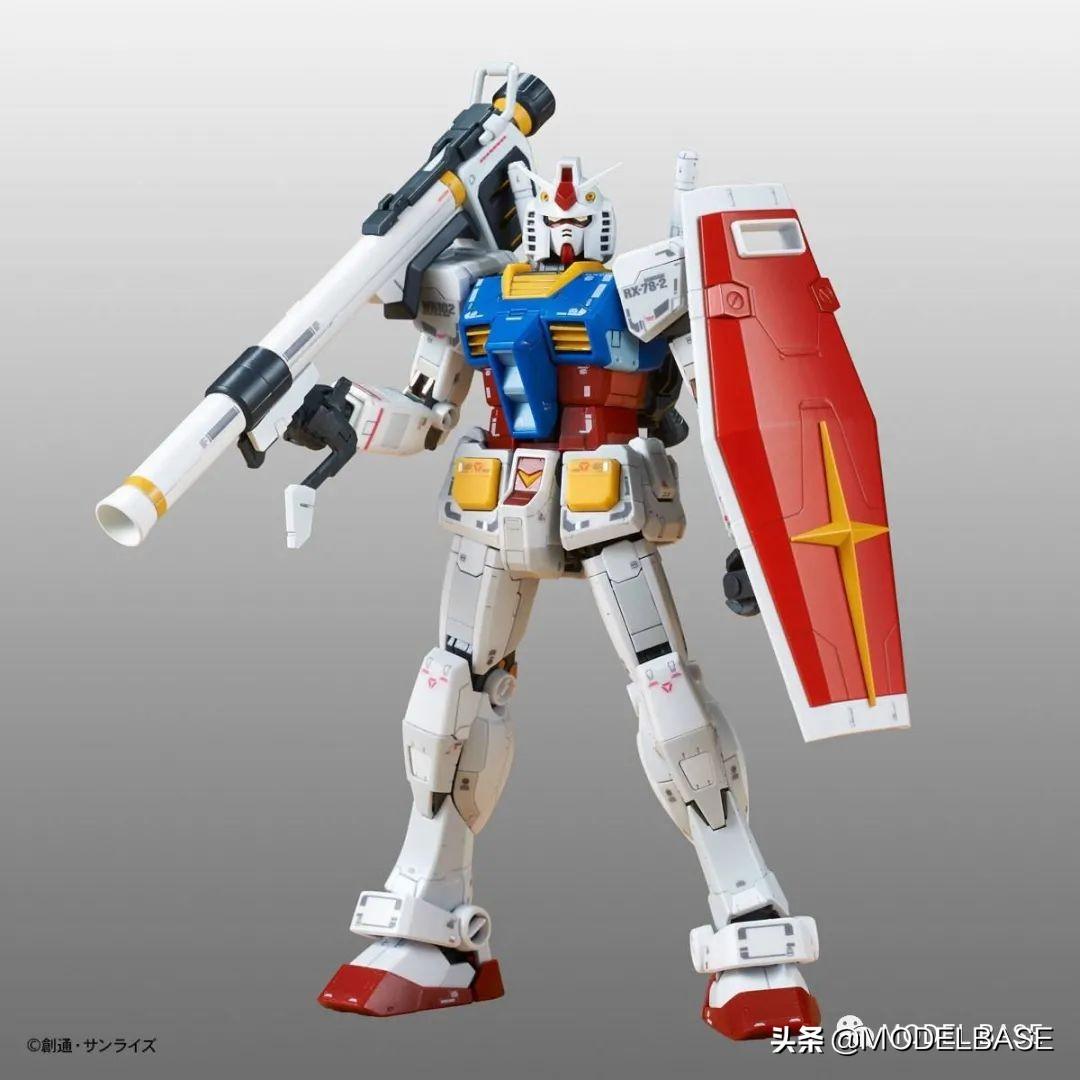 高达创战者真人版配色 RG独角兽、RG RX78-2