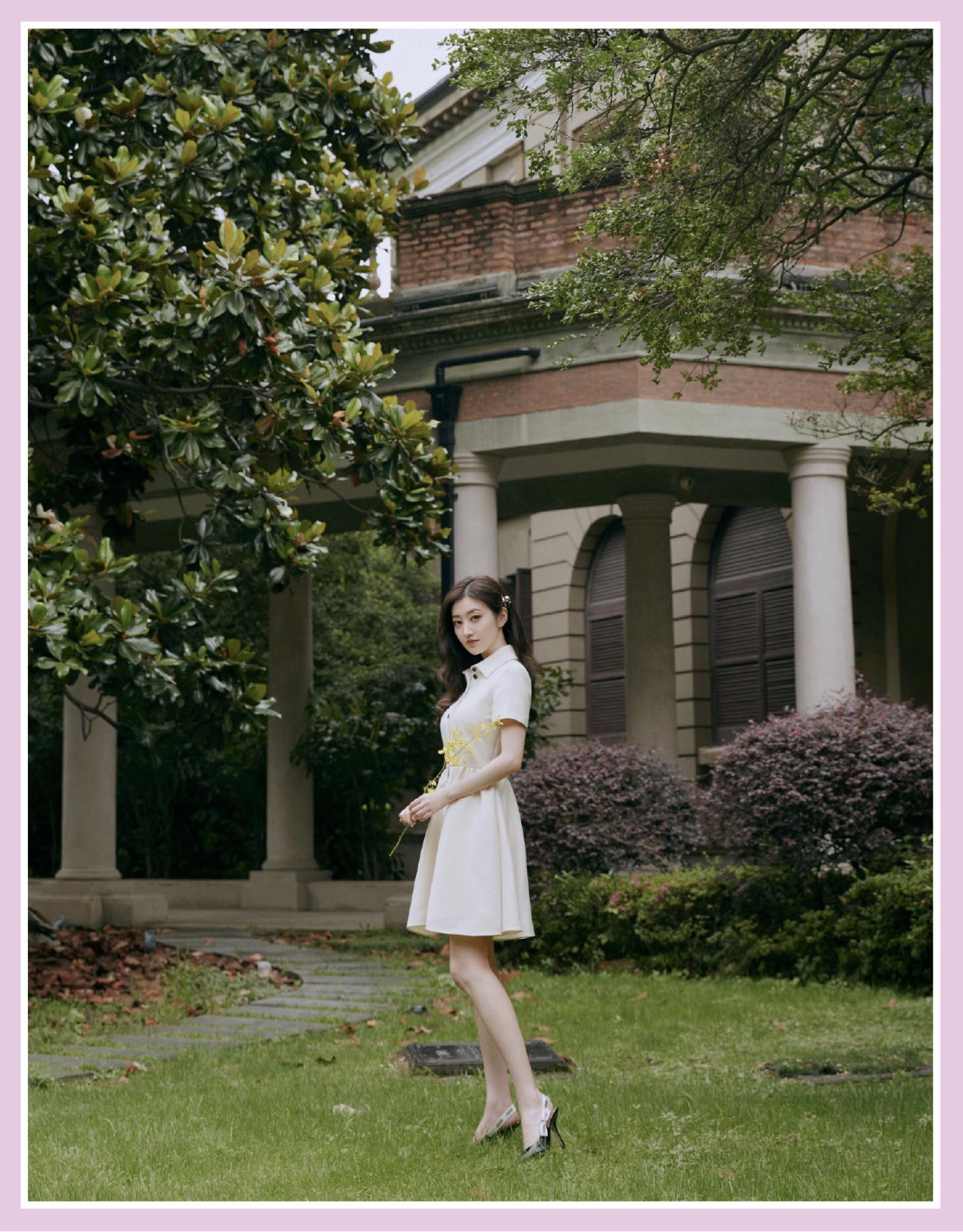 """""""人间富贵花""""景甜的二三事:肤白貌美腿还长,衣品时尚谁都爱"""