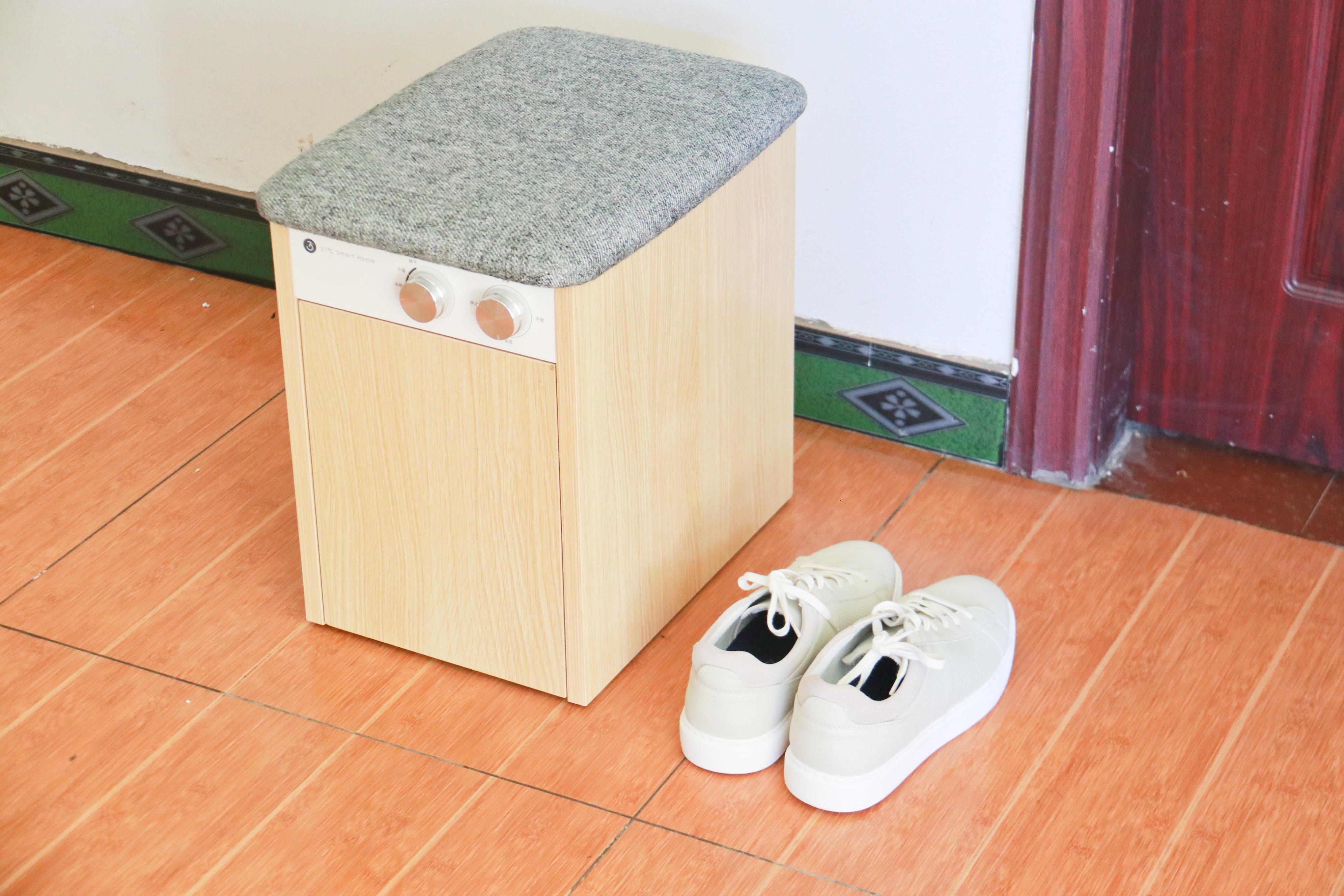 夏天鞋臭、潮湿,穿起来粘脚?这款37度智能家居杀菌鞋凳不容错过