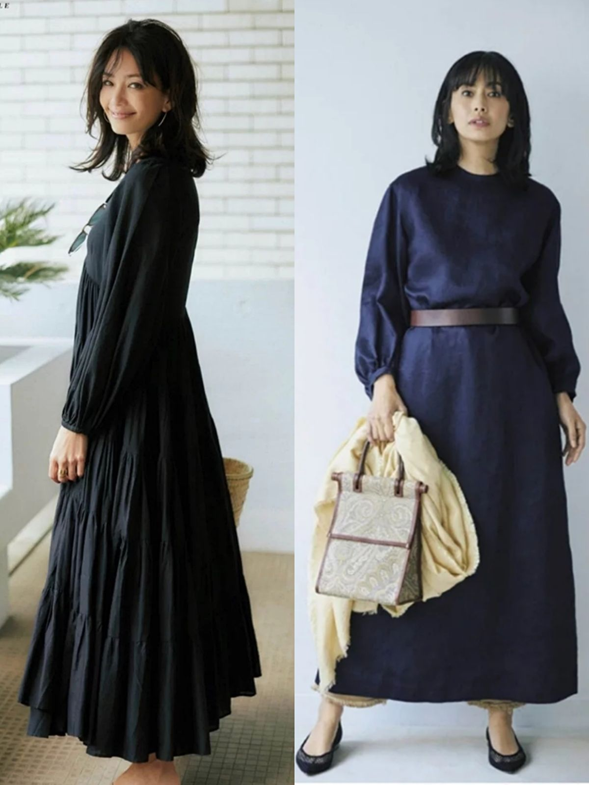 这才是40岁女人该有的打扮,教你选对单品,轻松穿出日系熟龄感
