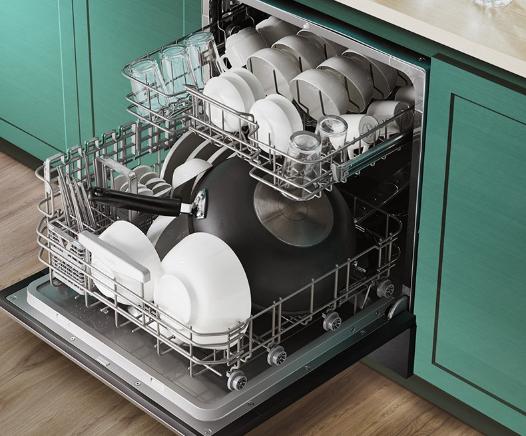 有了华帝干态抑菌洗碗机E5,再也不怕朋友来家聚餐