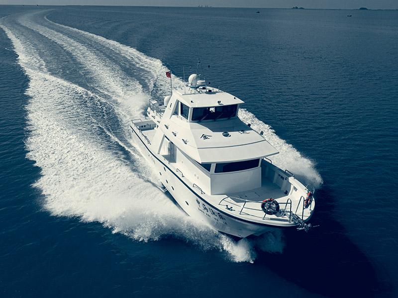 慕恩JY700D高速远航海钓艇,钓鱼爱好者的终极梦想