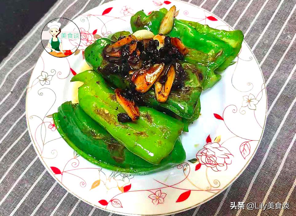 自从学会青椒此吃法,儿子吃一次馋一次,又香又下饭,做法还简单 美食做法 第12张
