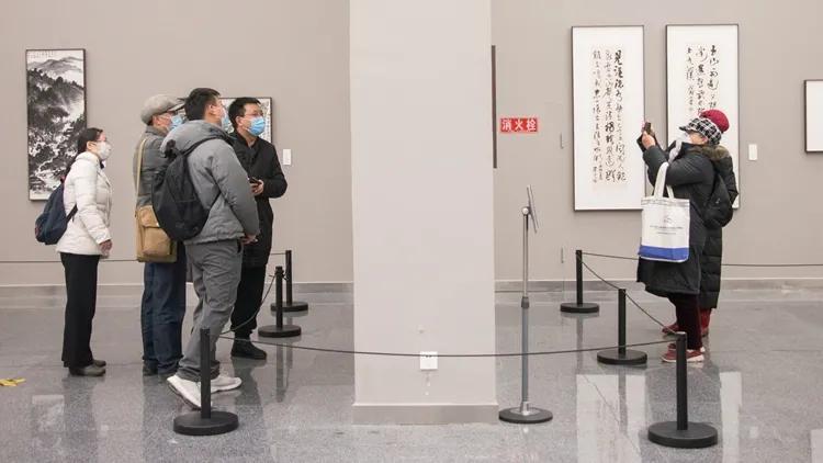 继续文心·四川文人画十人展在四川美术馆开幕