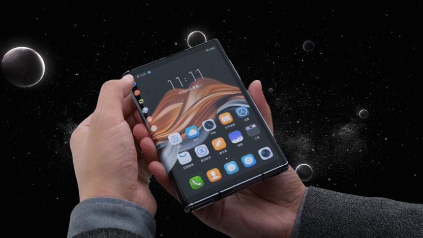 手机展开即是平板,柔宇新品FlexPai 2仅不到万元