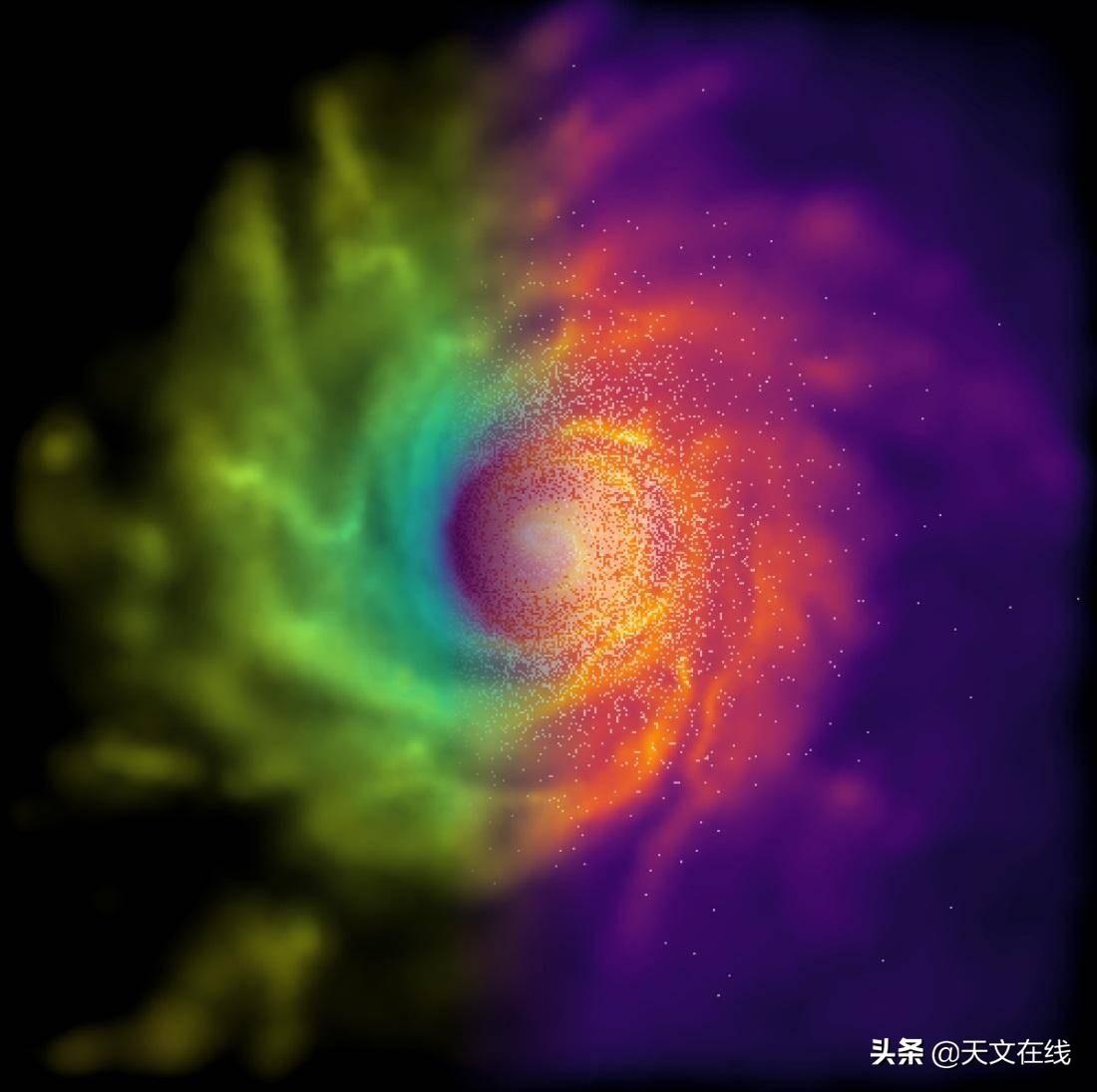 研究表明,具有自毁性的暗物质或许正发出伽马射线充斥天空