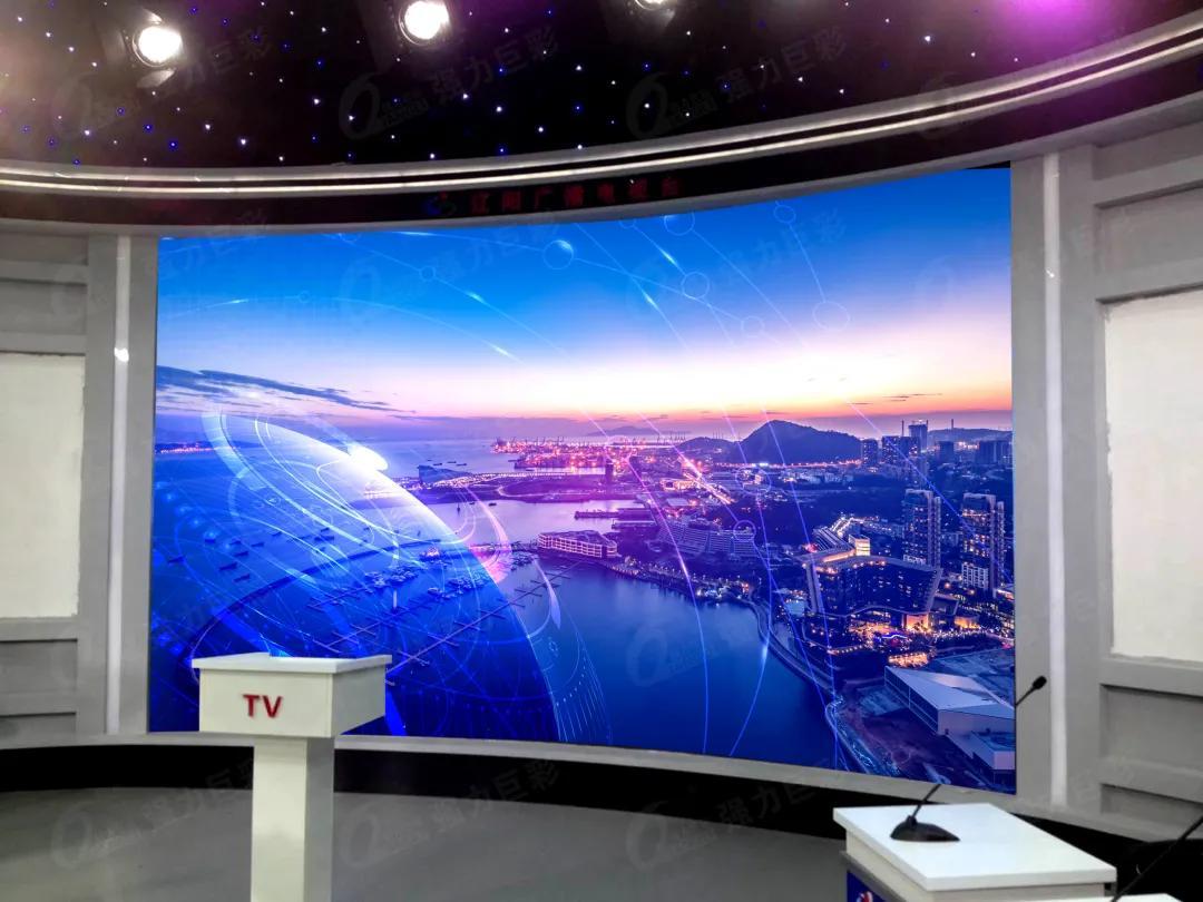 广电演播LED可视化解决方案 高清稳定又安全