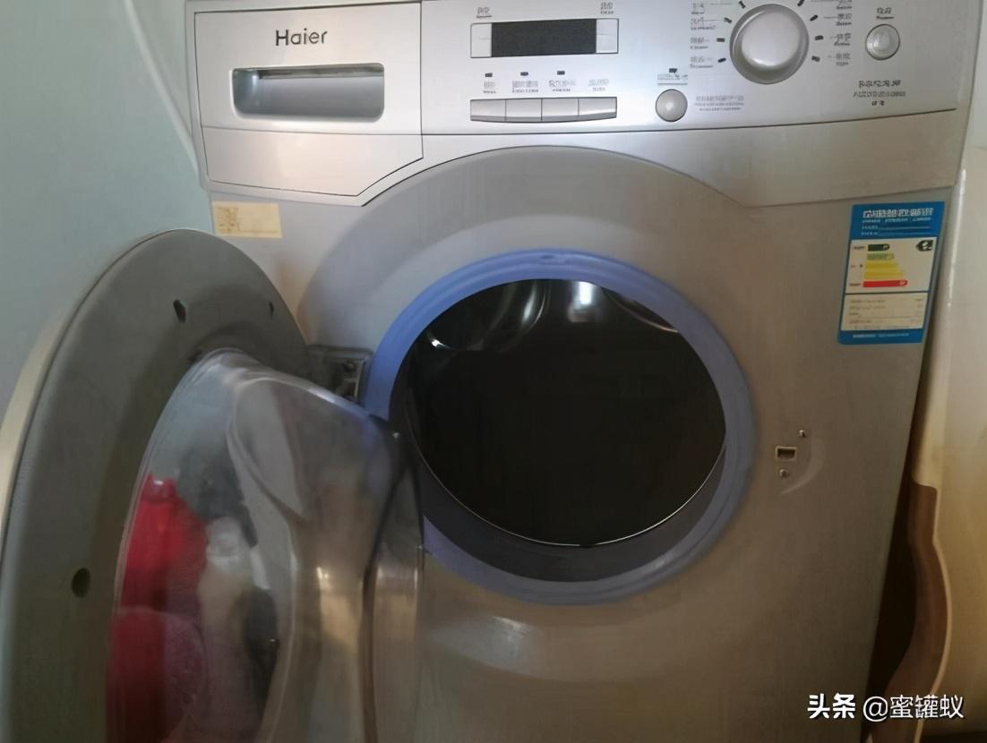 滚筒洗衣机门打不开(滚筒洗衣机门打开图解)