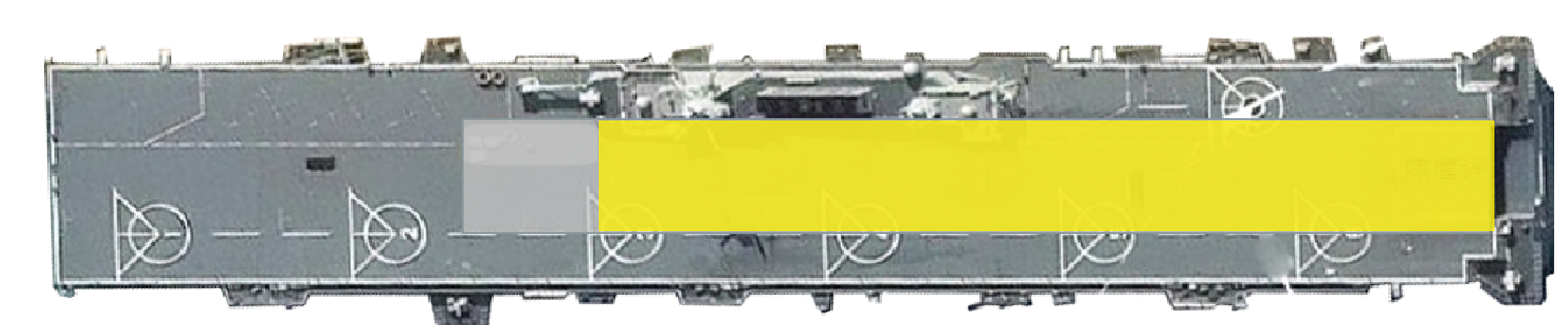 075舰首厚达5米,是因为舰艏飞行甲板下是机库?绝无可能