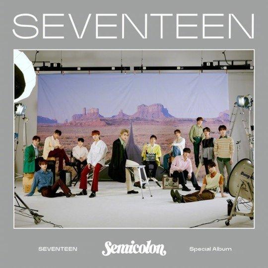 新纪录!SEVENTEEN双百万专辑达成,巩固国际艺人地位