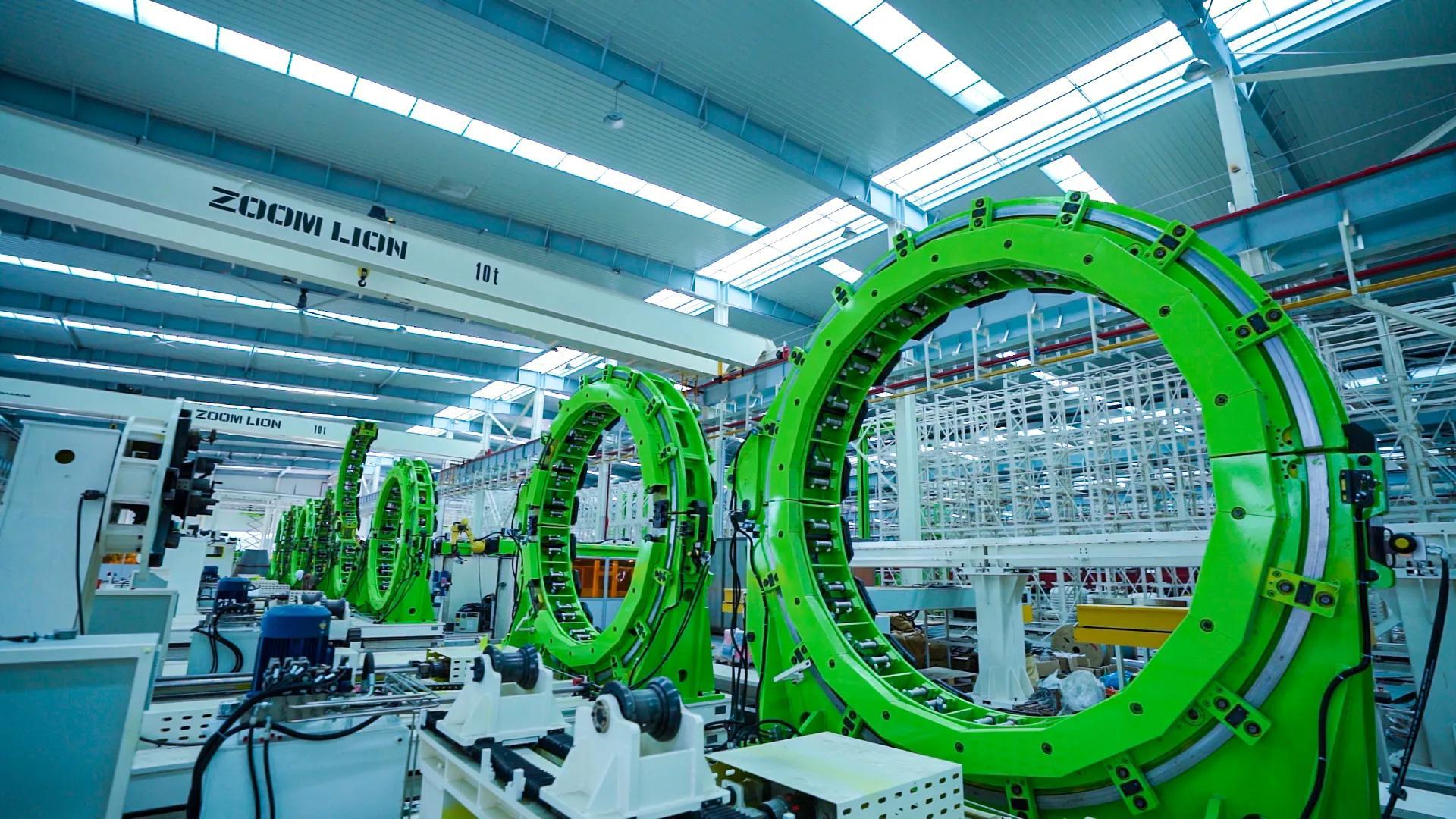 百亿智造高地强势崛起,中联重科沅江搅拌车智能制造工业园开园