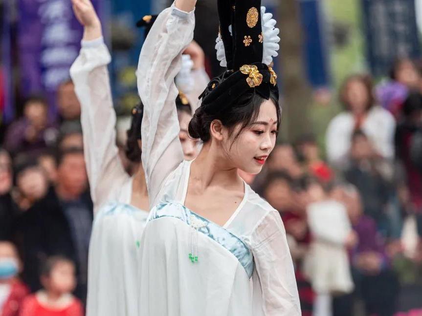 唐朝丽人穿越千年前亮相春台会?
