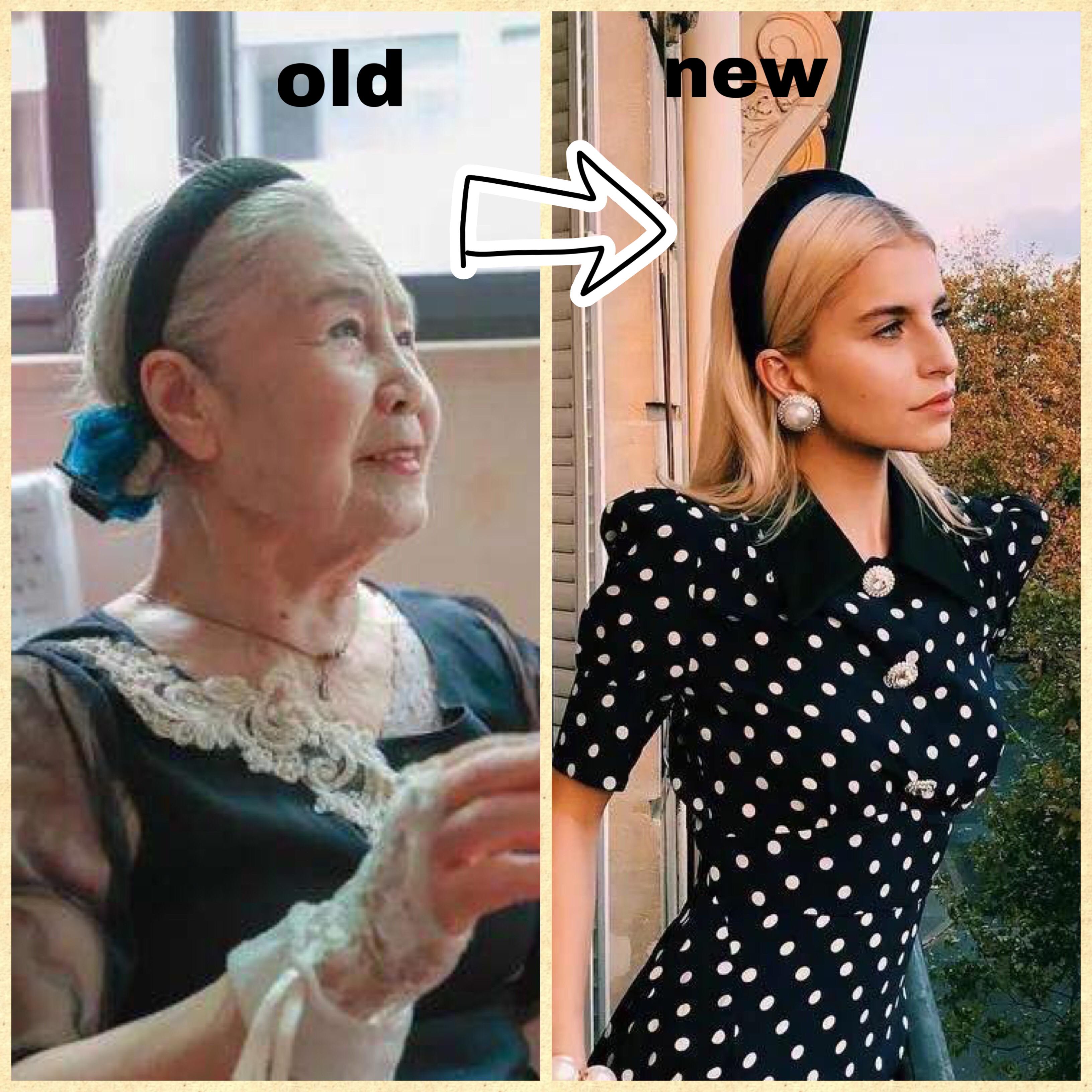 """大家都在戴""""奶奶风发饰"""",为什么我戴就显土?"""