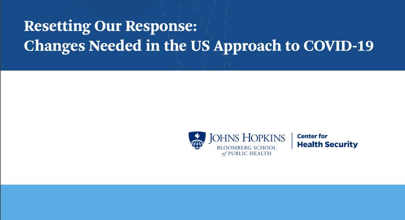 美国每一分钟就有一人死于新冠肺炎,约翰斯·霍普金斯大学为抗疫献策