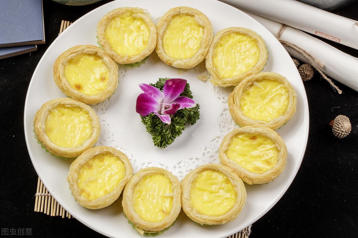 1盒牛奶2个鸡蛋,教你在家自制蛋挞,外酥里嫩,奶香味十足 美食做法 第2张