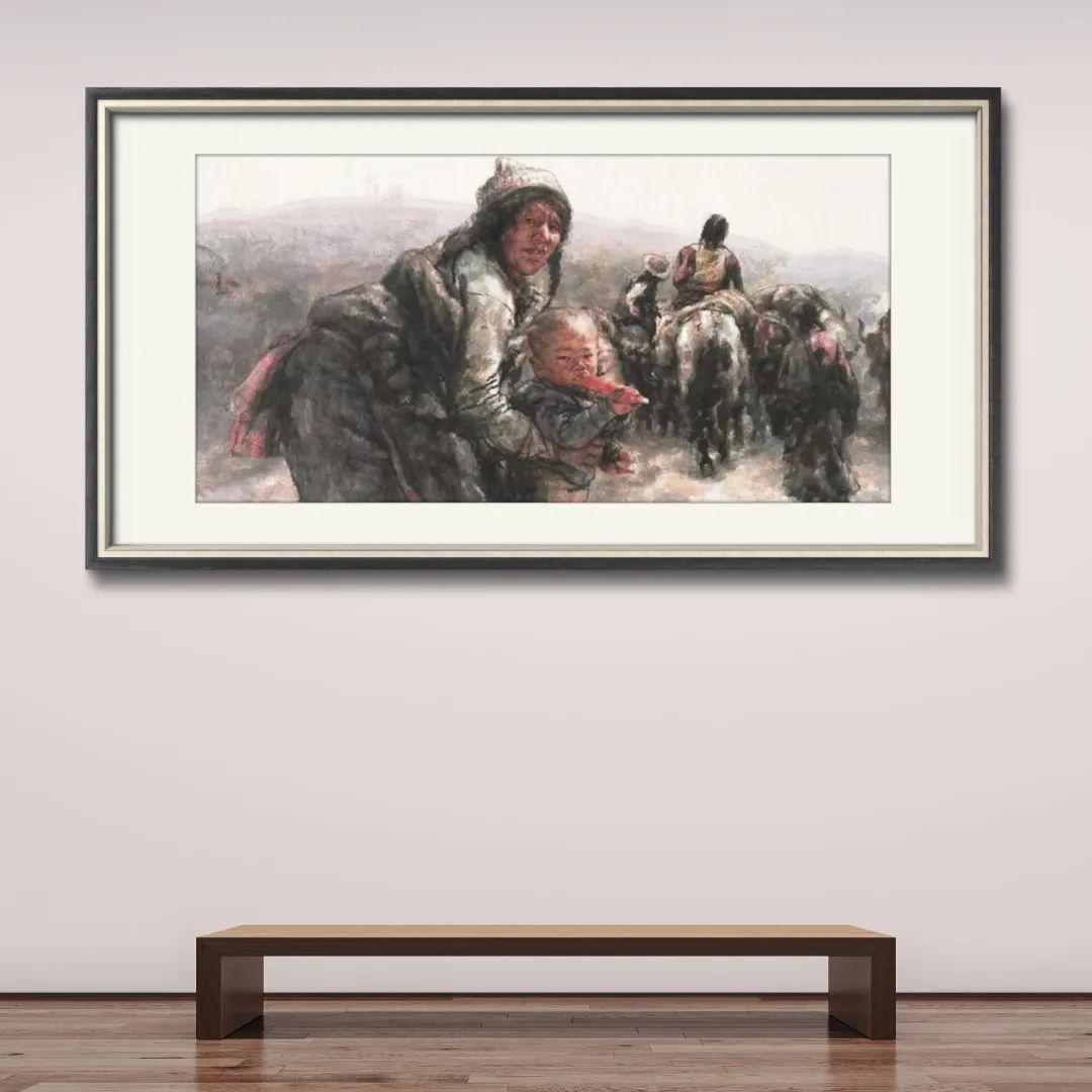 用笔墨娓娓道来藏民的生命故事——著名画家南海岩的艺术之路