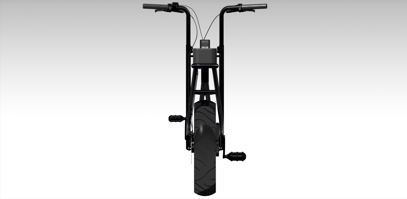 buzzraw电动自行车3D数模图纸 STP格式