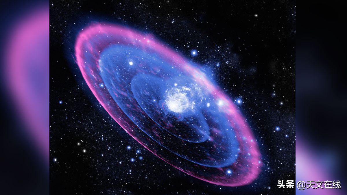 新发现,天文学家观察到了一次罕见的大质量恒星形成时的爆发活动