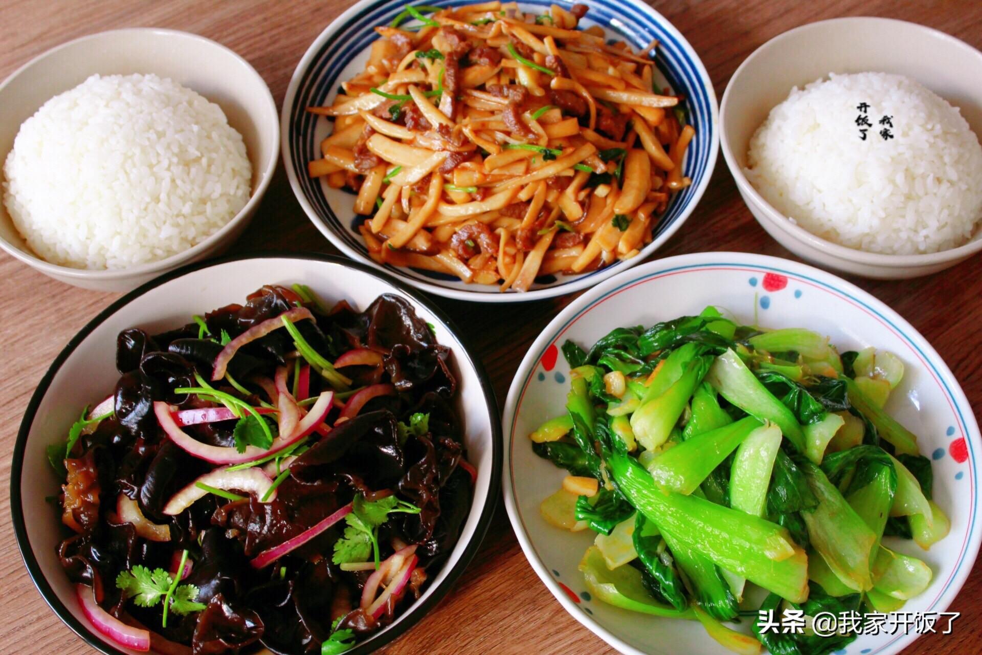 我家一周的午餐,没有大鱼大肉,每道菜都很合胃口,顿顿不重样 午餐 第3张