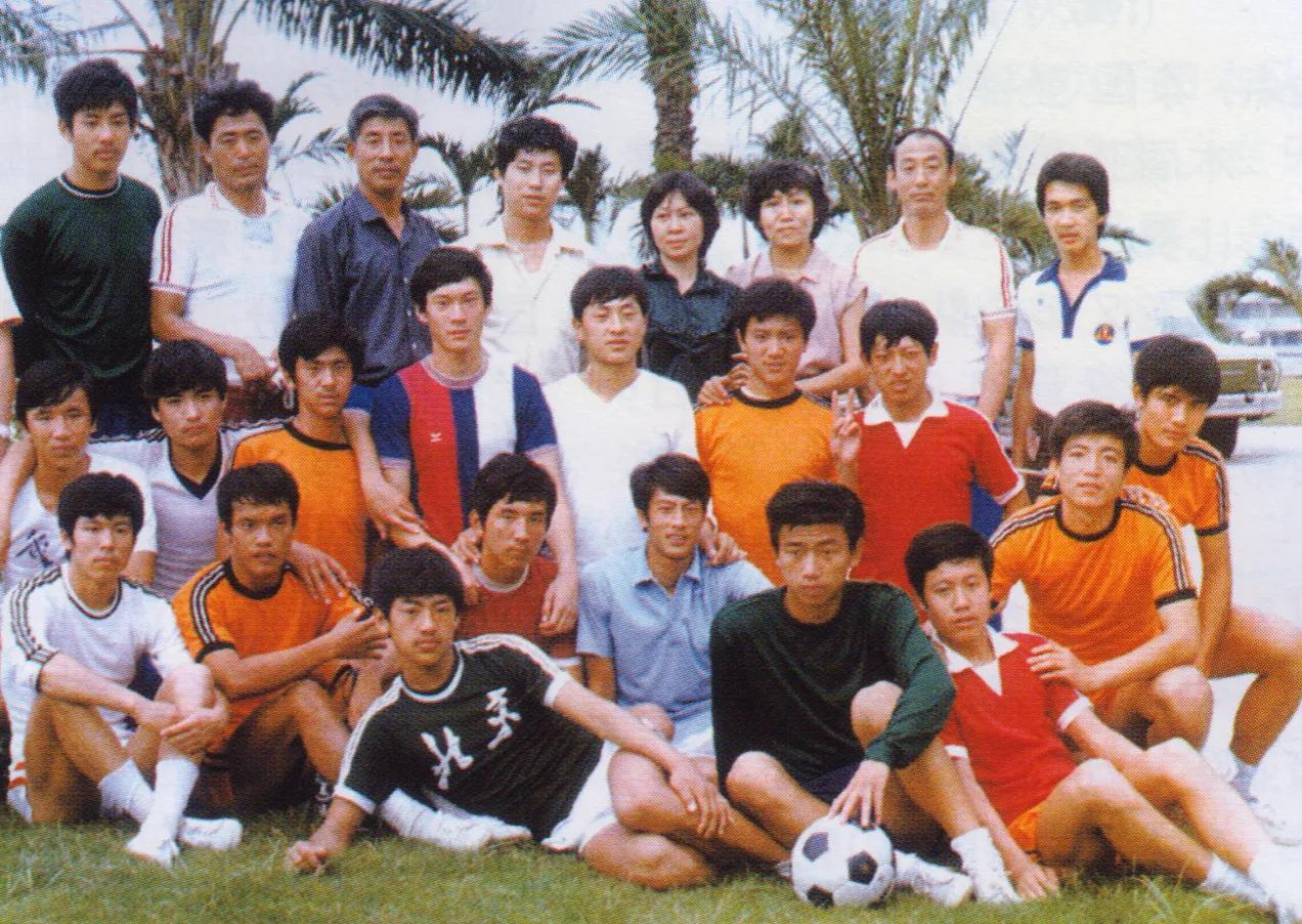 高指导首次出任国家级球队教练时的那些队员