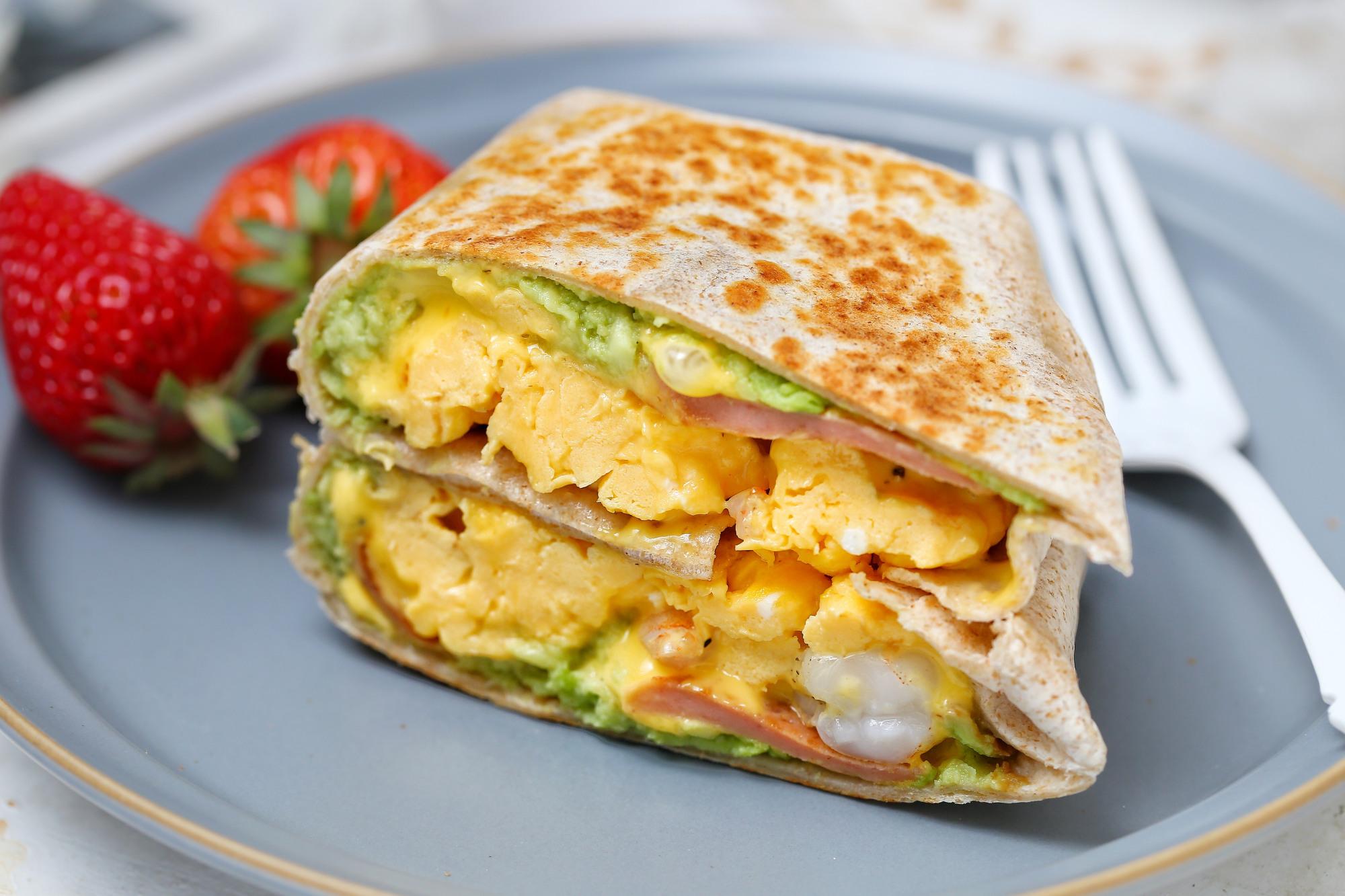 连吃一周也不腻的早餐饼,有虾有蛋营养均衡,简单快手十分钟上桌 美食做法 第1张