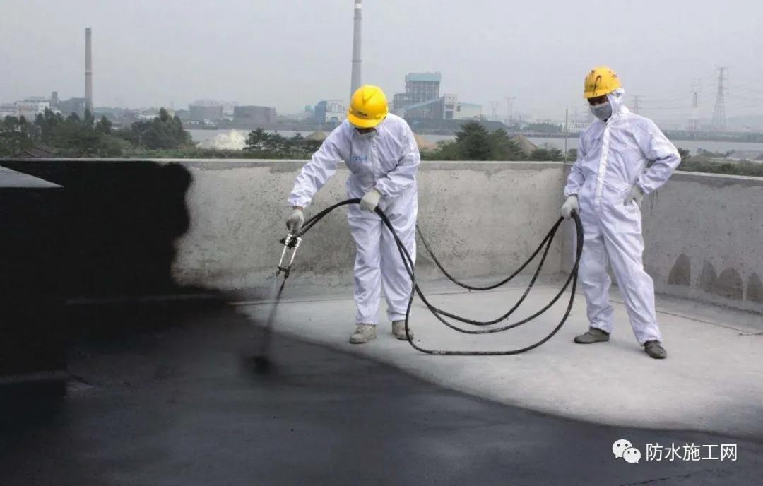 喷涂速凝橡胶沥青防水涂料在工程中的应用及施工要点分享