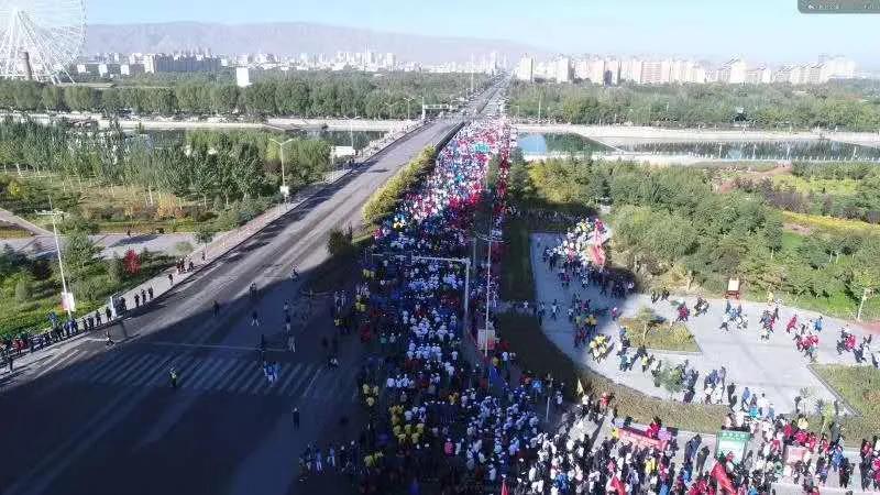 自在武威,绿色出行 ——第三届市区干部群众万人健步行活动来啦
