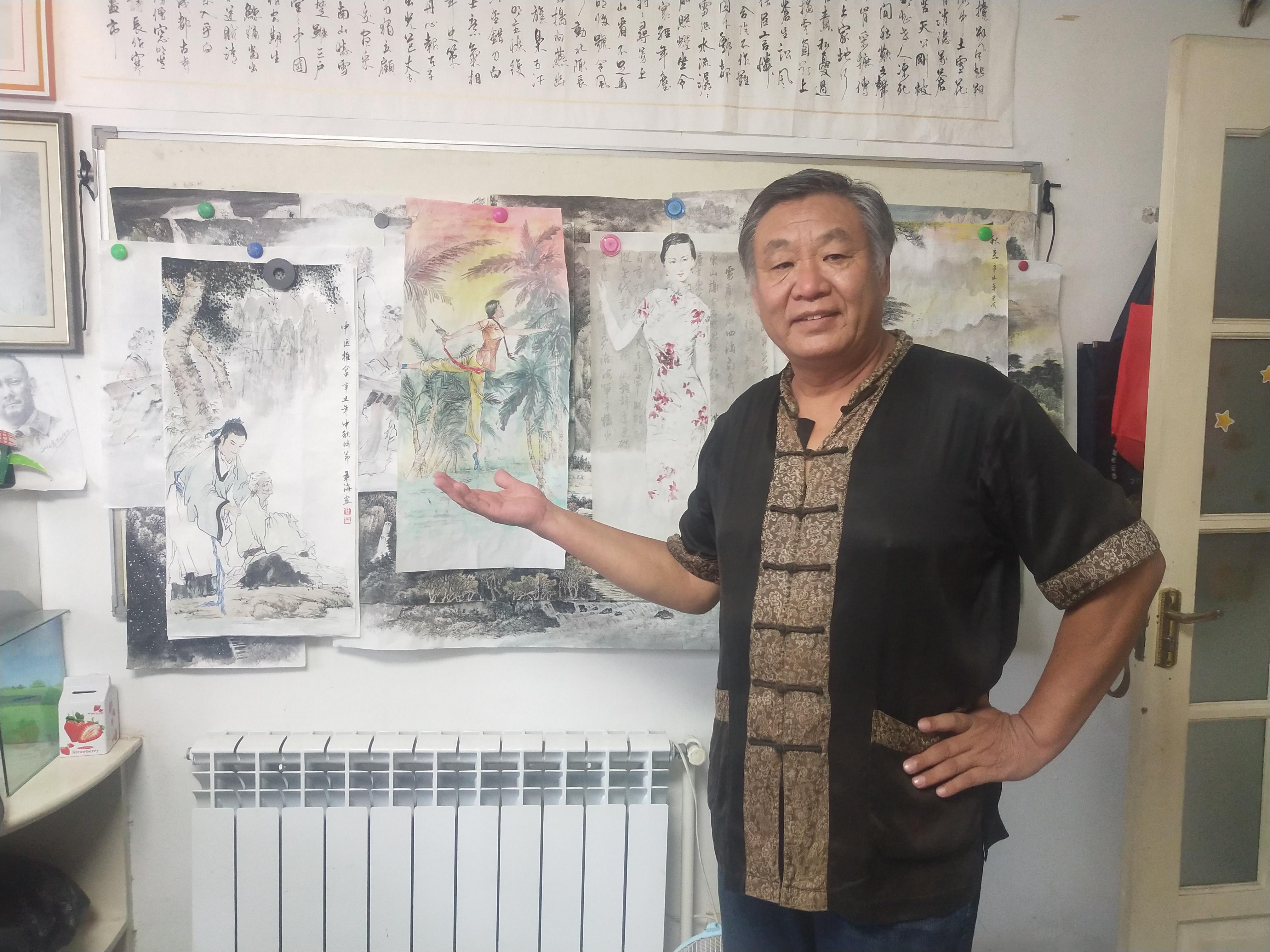 """槐香斋书画院""""迎中秋庆国庆书画笔会联欢会"""""""