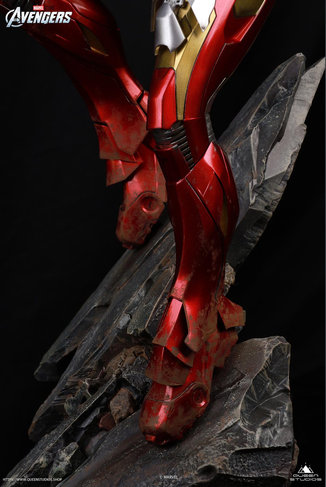 这款钢铁侠MK7雕像简直帅爆了