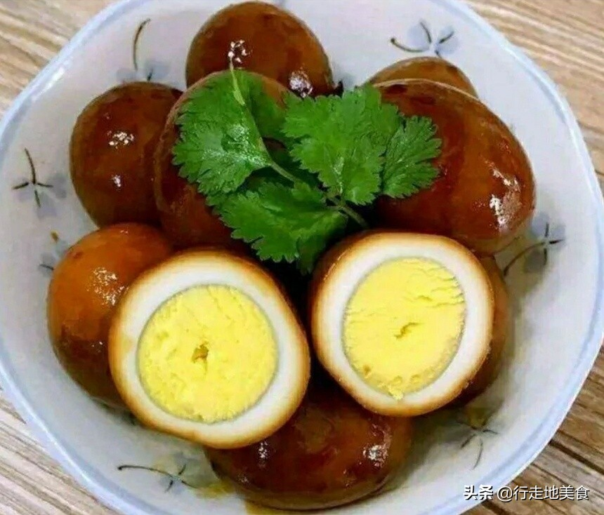 """""""卤蛋""""制作配方,做法简单,补充营养 各地小吃 第5张"""