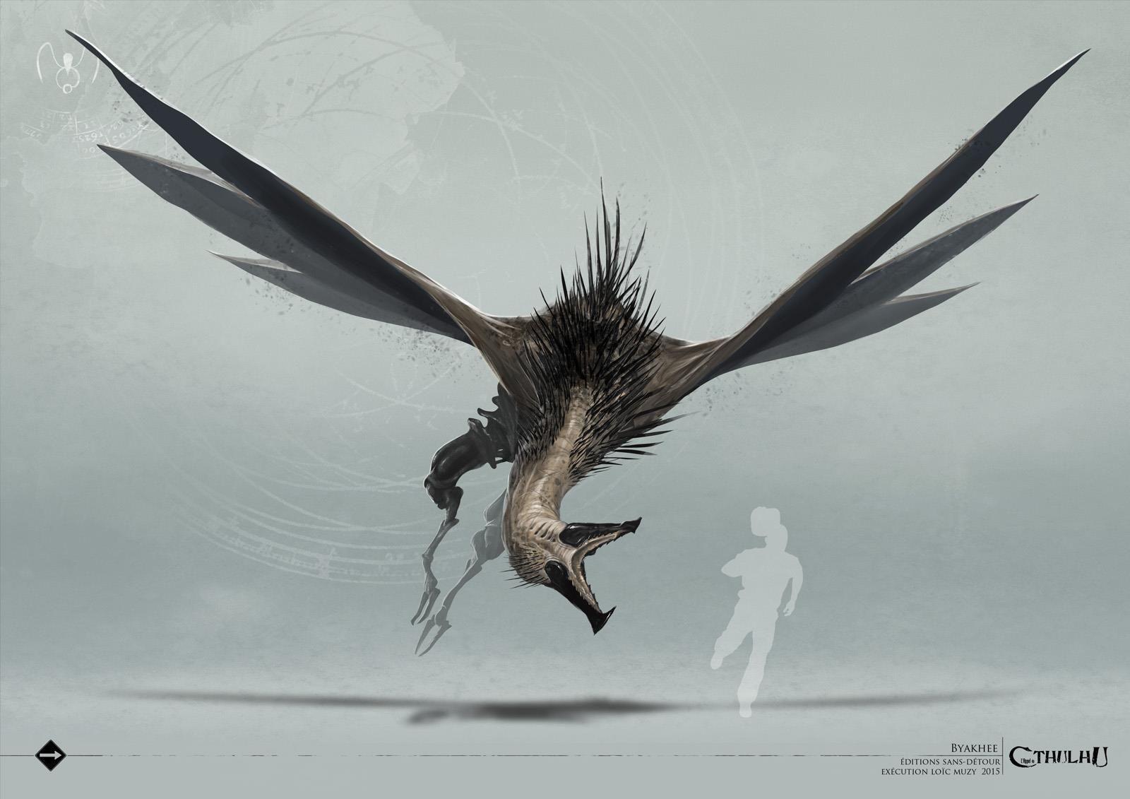 克苏鲁神话生物——拜亚基