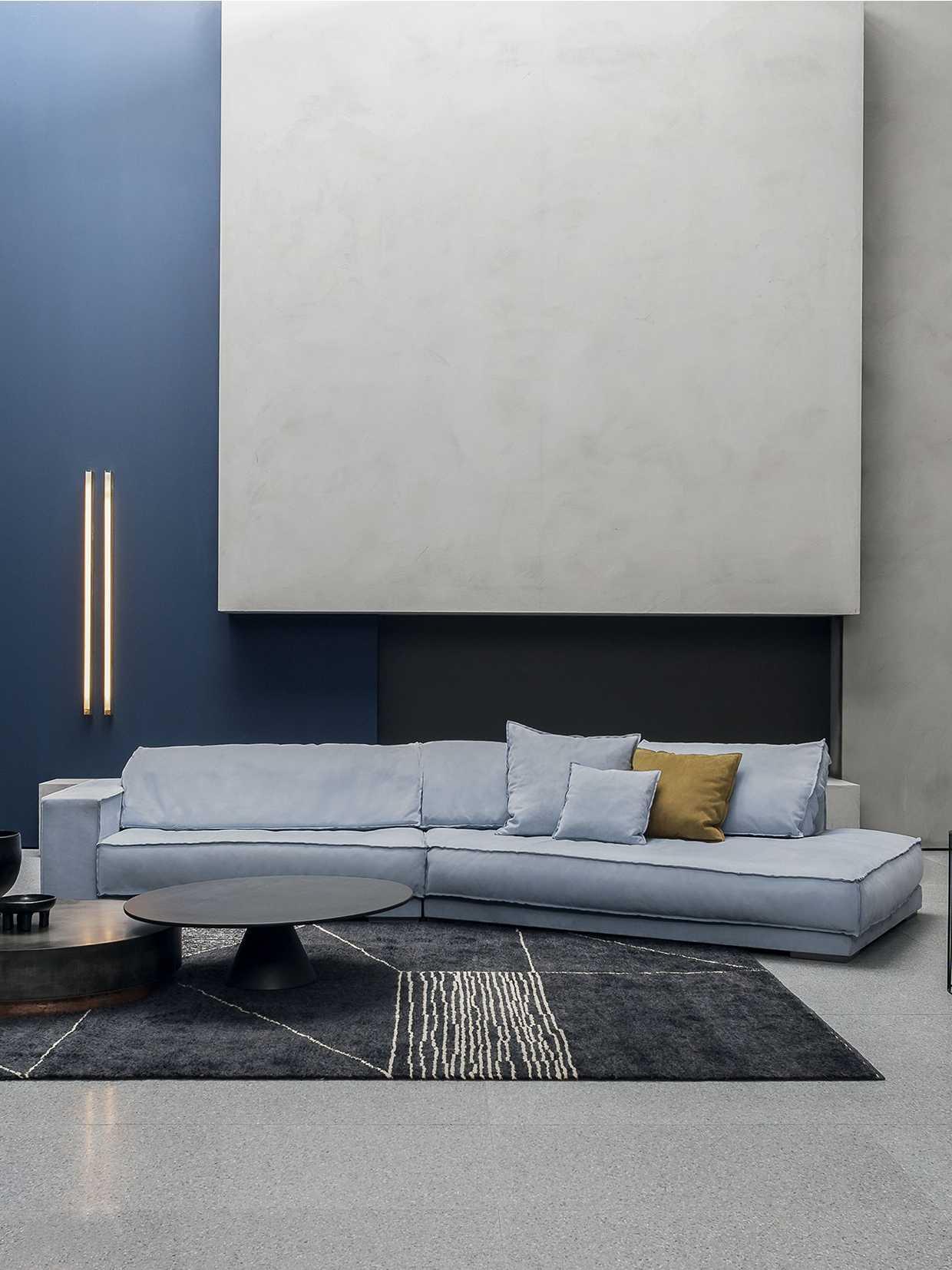 超级豪宅里的艺术家具,Baxter大转角沙发,比床还舒服