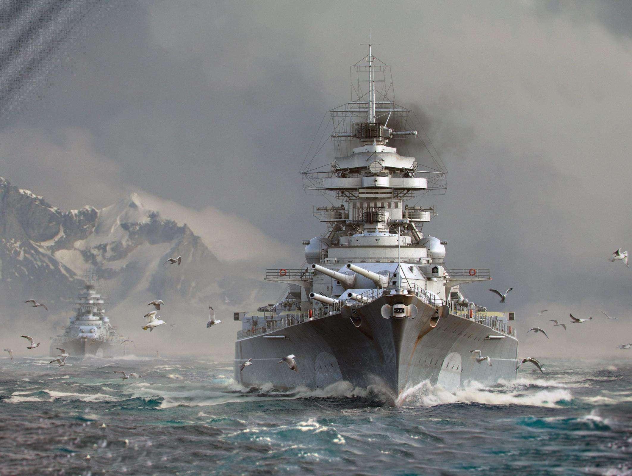 战列舰主炮威力有多大?与炮兵对轰,11发炮弹将对面轰稀碎