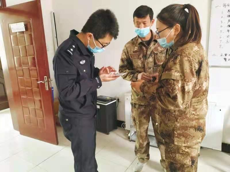 喀什垦区公安局及时制止一起电信诈骗案