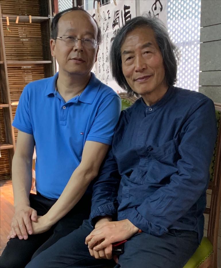 中国美术学院教授、博士生导师王冬龄老师为浙江西湖书画院题字
