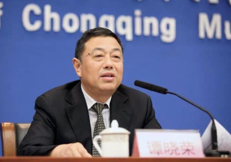 重庆政法委副书记谭晓荣主动投案 谭晓荣个人简历