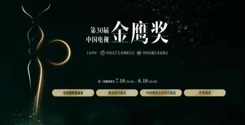 金鹰奖一轮投票结束,杨紫热巴代表剧出局,00后两小生争锋