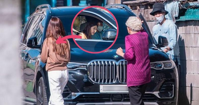 李昇基与李多寅约会的照片,D社给她P上了口罩?