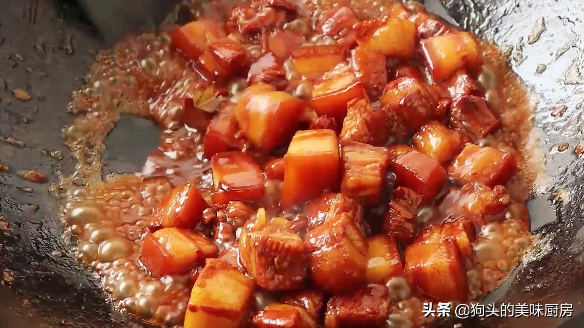 做红烧肉时,掌握这些小技巧,红烧肉不腥不柴,软烂入味口感好 美食做法 第15张