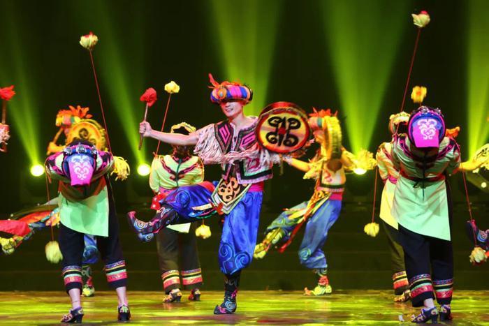 """19件舞蹈作品角逐陕西群众文化""""舞林至尊"""""""
