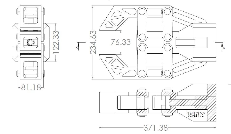 guygo gripper夹持器3D图纸 Solidworks设计 附工程图