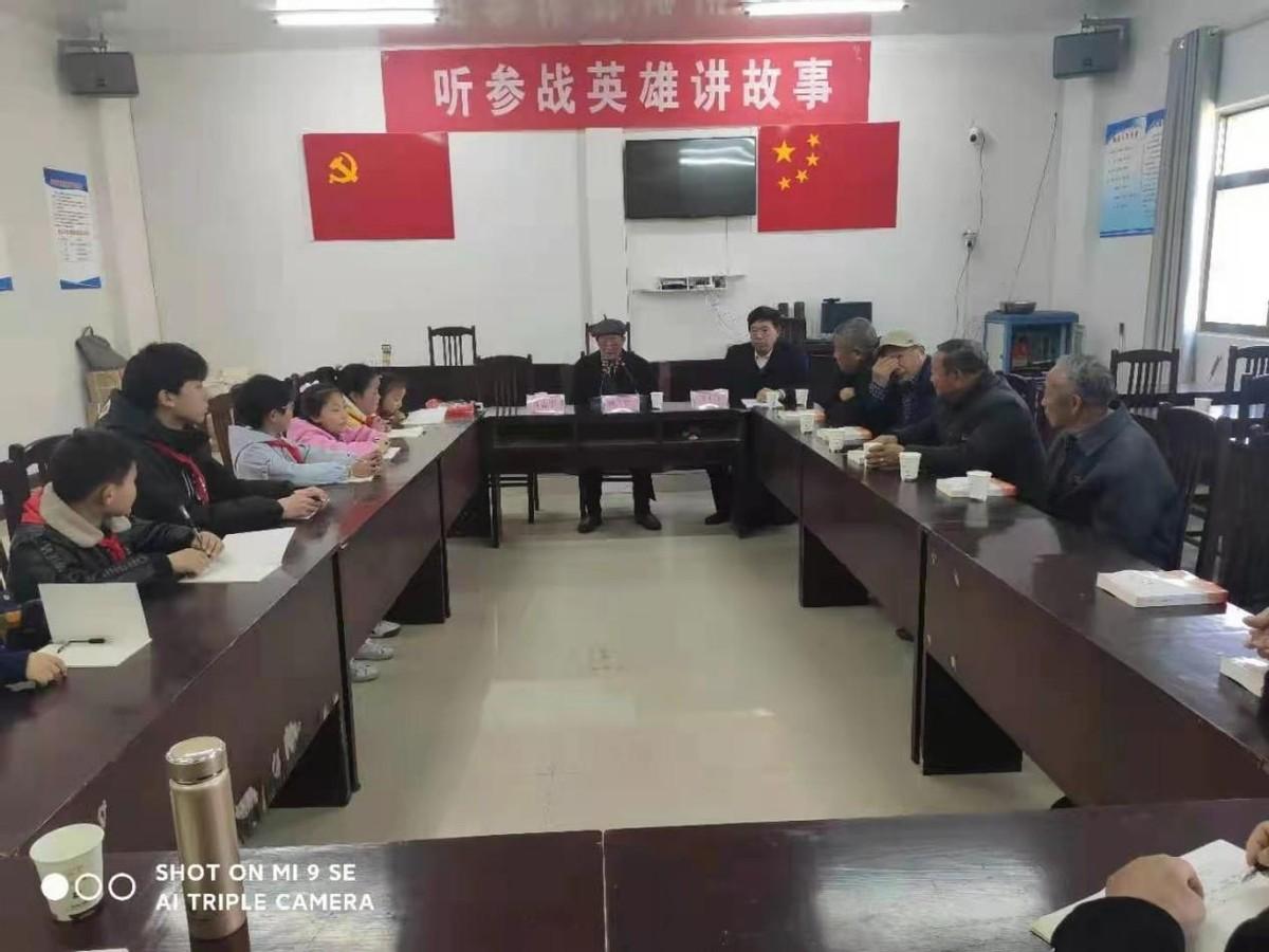 江苏射阳县海通镇开展传统教育丰富学党史内涵