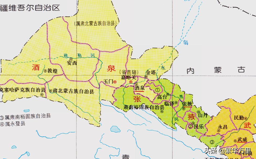 甘肃省的区划调整,12个市之一,嘉峪关市为何没有1个县?
