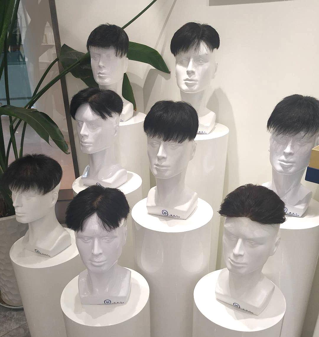 我的头发回来了!先试戴后修剪,最适合自己的发型新鲜出炉啦