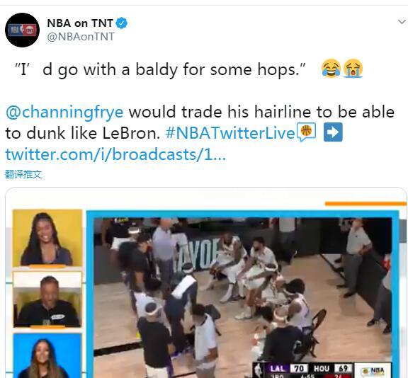 讓人羨慕的身體素質!一眉哥:他喝了不老泉水!Frye:我願用所有頭髮交換他的彈跳!-黑特籃球-NBA新聞影音圖片分享社區